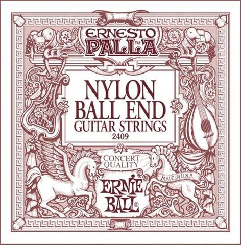 Ernie Ball E2409 Nylon Ball End Strings