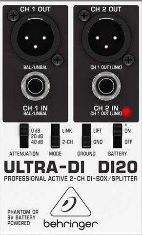 Behringer DI20 Ultra DI Box