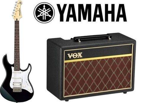 Yamaha GIGMAKER10BL Elec Guitar Pack Blk