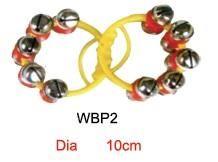 1pr P Plus RED Sleigh Bells