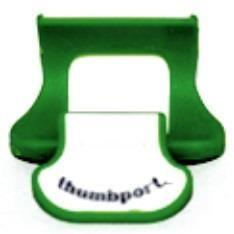 GREEN Flute Thumbport