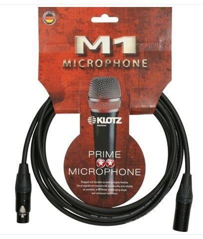 Klotz 3m M1 F/M Neutrik Mic Cable
