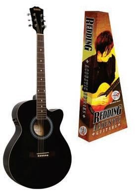Redding 51CEBK BLACK Ac/El Guitar