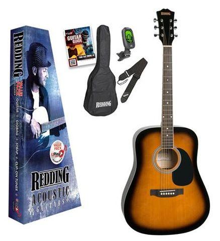Redding 50 TOBACCO SB Acoustic Guitar Pk