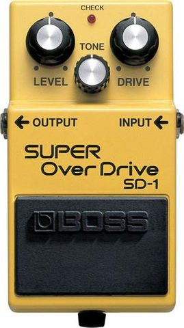 Boss Super Overdrive Compact Pedal