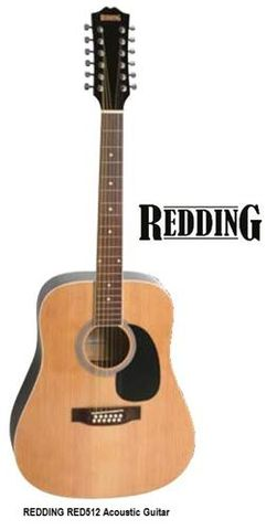 Redding 512 NAT 12 String Acoustic Gtr