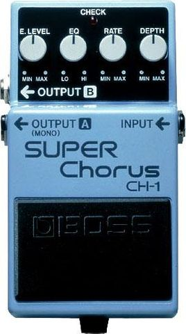 Boss Super Chorus CH1 Effects Pedal
