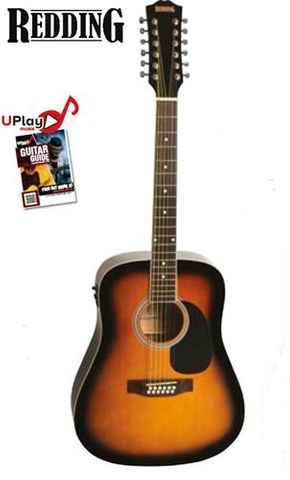 Redding Ac/El 12 String Tobacco SB Guit