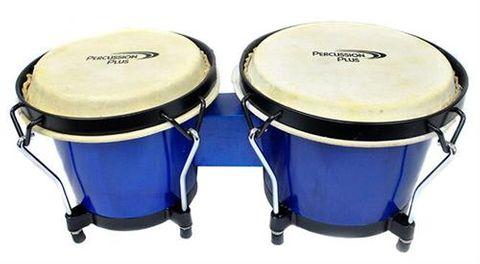 PPlus Wood 6 7 Bongos BLUE