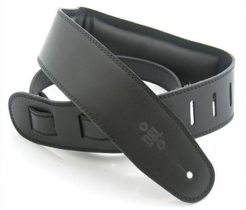 DSL Black Padded Guitar Strap 15-1