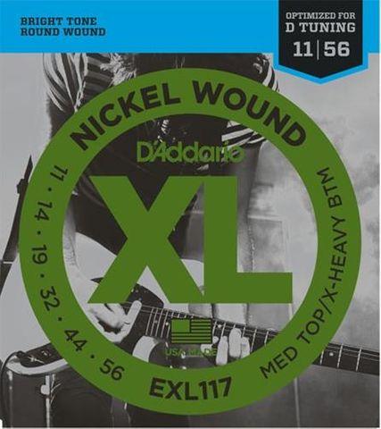 D'Addario EXL117 XL Guitar Strings