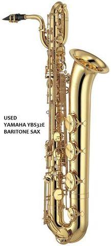 Used Yamaha YBS32E Baritone Saxophone