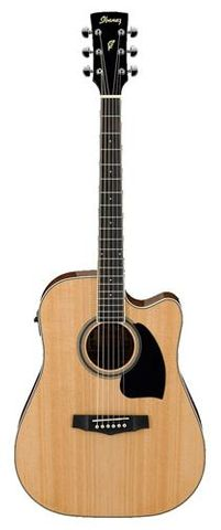 Ibanez PF15ECE NT Ac/El Guitar