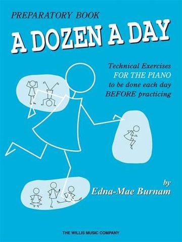 Dozen a Day Preparatory Book