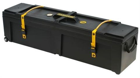 48in Std Black Hardware Case with Wheels