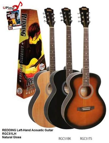 Redding LH RGC51LH NAT Acoustic Guitar