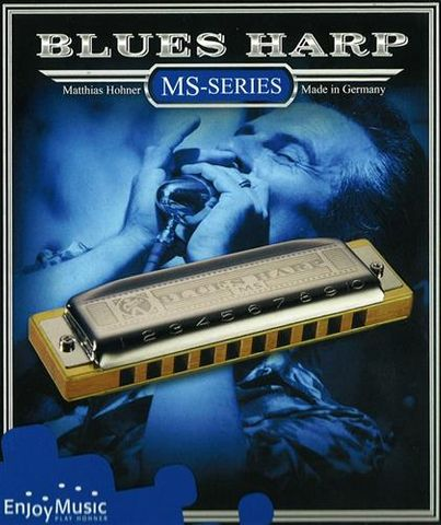 Hohner New Box G Blues Harp