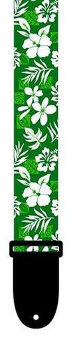 Perris Green Floral Ukulele Strap