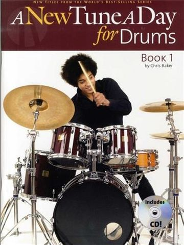 New Tune a Day Drums Book 1 Bk CD