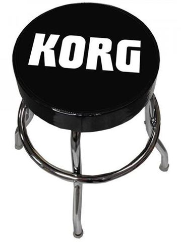 Korg Guitar Stool w Swivel Padded Seat