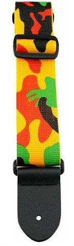 Perris Multi Coloured Camo Guitar Strap