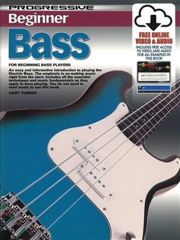 69164 Beginner Bass Guitar Book