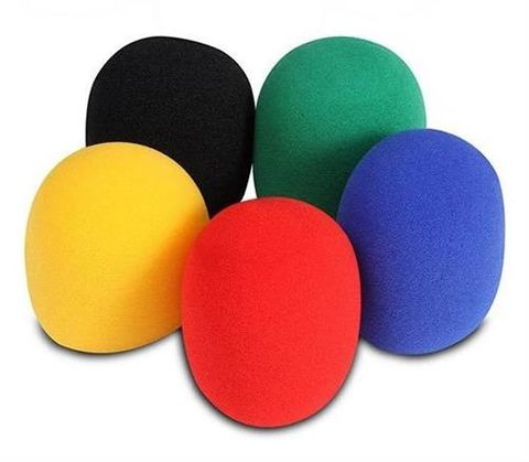 Onstage 5 Colour Pack Foam Windscreens