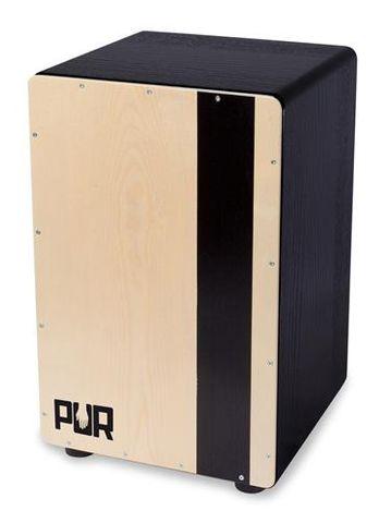 PUR Cajon Compact QS EBano (Black) w BPk