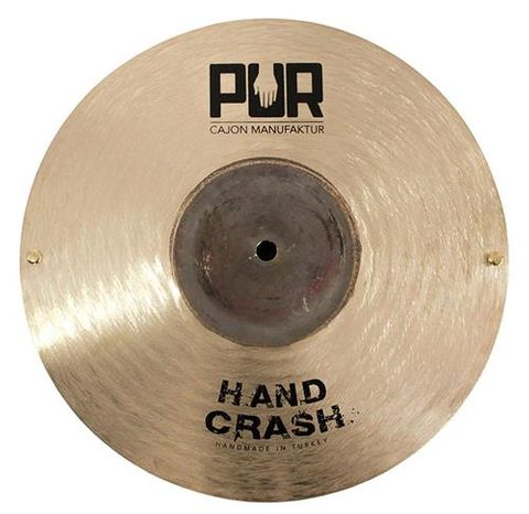 PUR Hand Crash Cymbal 12 in B20 w Rivets