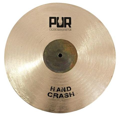 PUR Hand Crash Cymbal 14 in B20 Bronze