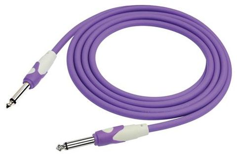 Kirlin 20ft PURPLE Guitar Cable
