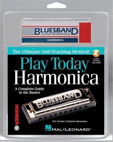 Play Today Harmonica Kit Bk CD