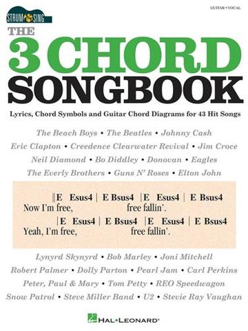 The 3 Chord Songbook Strum and Sing Gtr