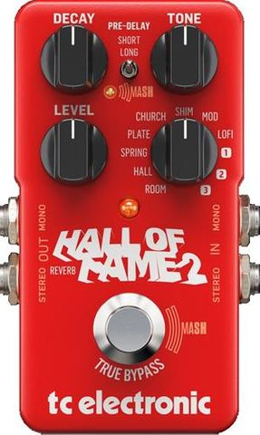 TC Electronic Hall of Fame 2 Reverb Peda