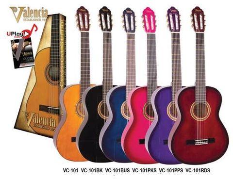 Valencia 1/4 PINK 100 Series Classic Gtr