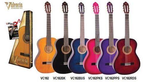 Valencia 1/2 BK100 Series Classic Guitar