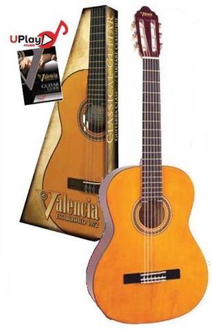 Valencia 3/4 LH NAT Classic Guitar