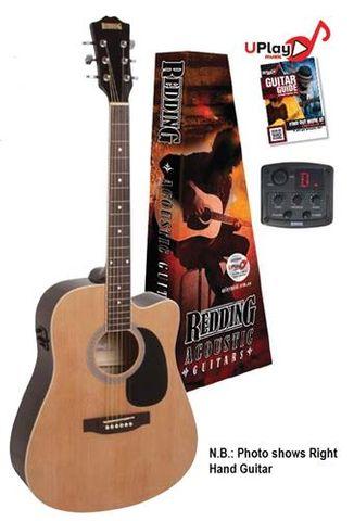 Redding 50CELH LH Nat Ac/El Guitar