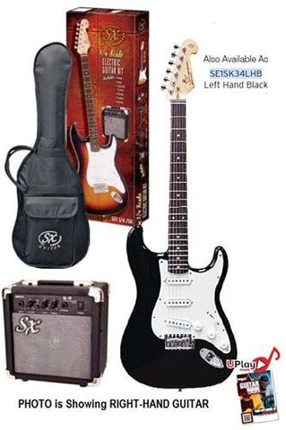 SX 3/4 LH Electric Guitar Kit