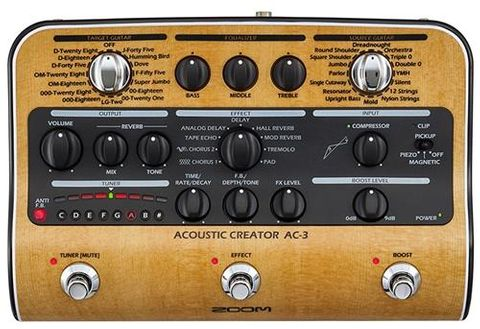 Zoom AC3 Acoustic FX and Amp Simulator