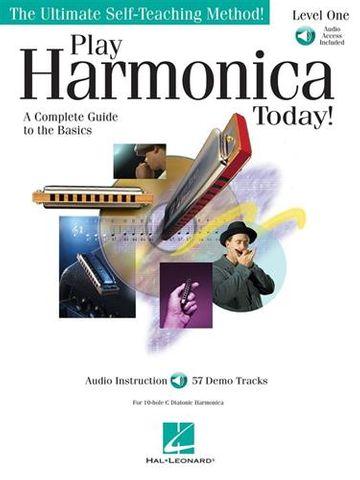 Play Harmonica Today Bk CD Level 1