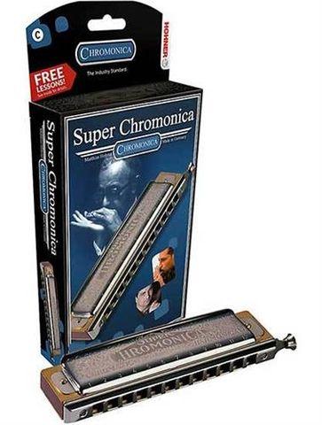 Hohner C New Box 12/48 Chrom Harmonica