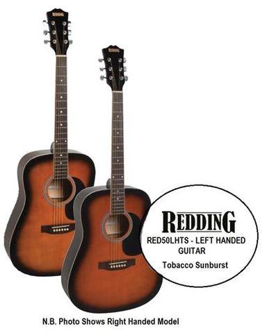 Redding 50LHTS Left Hand Acoustic Guitar