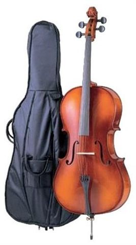 C Giordano 1/2 Student Cello Outfit SC90