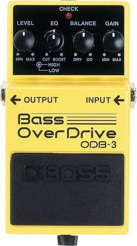 Boss New Bass Overdrive ODB3