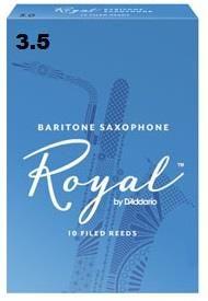 Rico Royal 3.5 Baritone Sax Reed