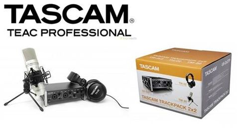 Tascam 2X2TP Home Recording Package