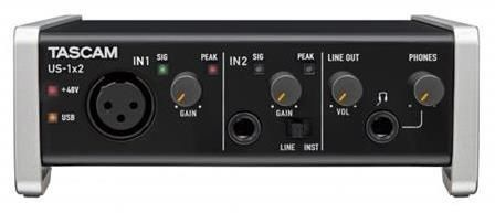 Tascam US1X2 USB Audio Interface