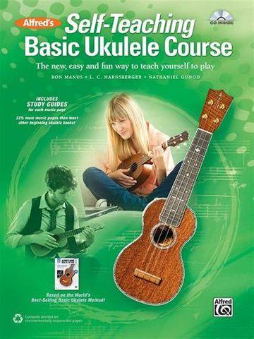 Alfreds Self Teaching Basic Ukulele BkCD