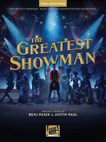 The Greatest Showman Piano Vocal Sel
